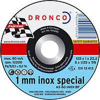 Диск по металлу 125х1х22,2 DRONCO INKRU00000N125102D (INKRU00000N125102D)