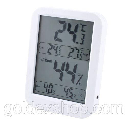 Термометр электронный комнатный с гигрометром TH028