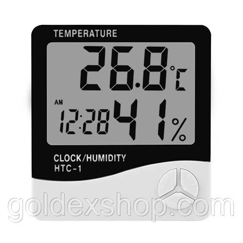 Термометр с гигрометром  комнатный HTC -1
