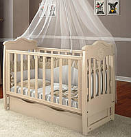 Дитяче ліжечко Angelo Lux-5 Слонова кість