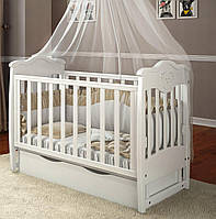 Дитяче ліжечко Angelo Lux-5 Біле