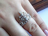 """Серебряное кольцо """"Диадема"""" Корона, фото 1"""
