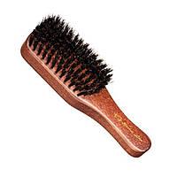 Щетка для бороды деревянная с натур. щетины BARBER LINE Eurostil 06077
