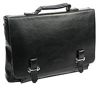 Портфель-сумка из эко кожи Professional  S831.10 черный