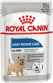 Влажный корм для собак, склонных к полноте Royal Canin Light Weight Care паштет 85 г