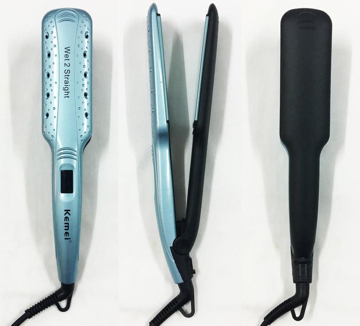 Утюжок выпрямитель для волос Kemei KM-9621