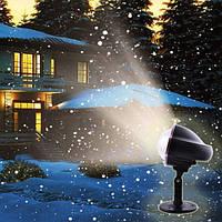 Цветомузыка диско лазер новогодний XL-809, белый свет