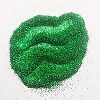 Глітер (блискітки для декору), упаковка 50 г. Зелений