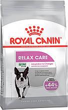 Сухий корм для собак малих порід, схильних до стресу Royal Canin Mini Relax Care 3 кг
