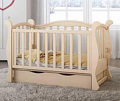 Дитяче ліжечко Angelo Lux-6 Слонова кість
