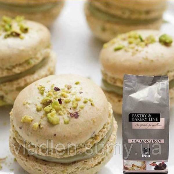 """Готовая смесь для приготовления Macarons - """"DELIMACARON"""" 1 кг IRCA / Ирка, Италия"""