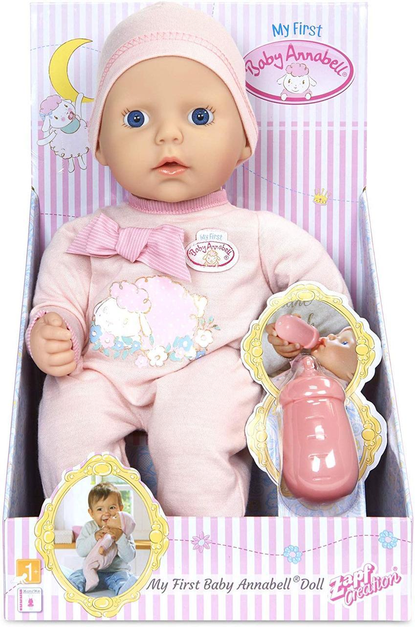 """Кукла пупс Беби Анабель """"Моя первая малышка"""" Baby Born My First Baby Annabell. Оригинал!"""