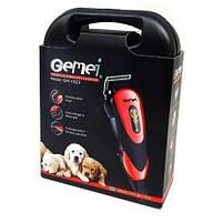 Профессиональная машинка для стрижки кошек и собак, вычесывания Gemei GM-1023, фото 7