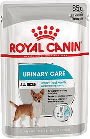 Влажный корм для собак с чувствительной мочевыделительной системой Royal Canin Urinary Care паштет 85 г