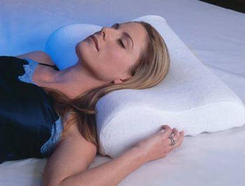 Подушка ортопедическая с памятью Memory Foam Pill