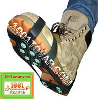 Большие универсальные ледоходы Профи на 10+10 шипов (усиленные), ледоступы Profi, шипы на обувь 41-46