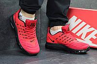 Мужские кроссовки в стиле Nike Air Max lunarlaunch, красные 41 (26 см)
