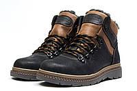 Мужские зимние ботинки на меху в стиле Columbia Chinook Boot WP, черные 43 (29,4 см)