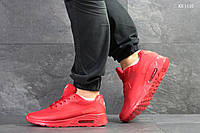Мужские кроссовки в стиле Nike Air Max Hyperfuse, сетка, пена, красные 44 (28 см)