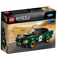 Конструктор LEGO Speed Champions 1968 Ford Mustang Fastback 183 детали (75884)