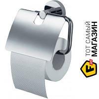 Держатель для туалетной бумаги для туалета - металл - Haceka Kosmos 402313 (1112657) - металлик шуруп