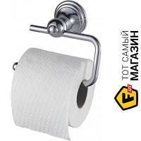 Держатель для туалетной бумаги для туалета - металл - Haceka Allure 401814 (1126181) - металлик шуруп