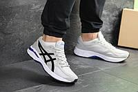 Мужские кроссовки в стиле Asics, серые 45 (29 см)