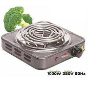 Плита электрическая настольная 1000w 14см Stenson (ME-0012G)