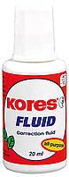 Коригуюча рідина Kores FLUID 20 мл з пензликом (K66101)