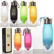 Бутылка (бутылочка) для воды и напитков спортивная 650 мл Profi (MS 2944)