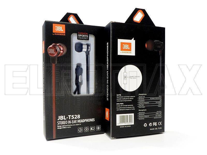 Наушники вакуумные с микрофоном JBL T528