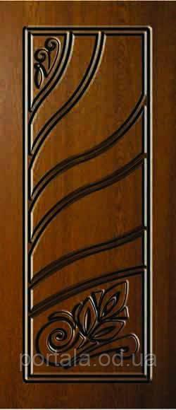 """Стальные входные двери """"Портала"""" (серия Элит) ― модель АМ12 Patina"""