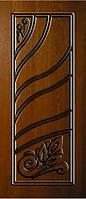 """Стальные входные двери """"Портала"""" (серия Элит) ― модель АМ12 Patina , фото 1"""