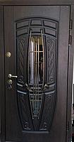 """Стальная дверь элит класса """"Портала"""" (PatinaElit) ― модель Монако АМ18 Vinorit, фото 1"""