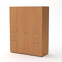 Шкаф-20 бук Компанит (160х62х203 см)