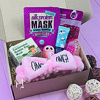 Подарочный Бокс City-A Box #05 для Женщин Бьюти Beauty Box Набор Розовый из 8 ед.