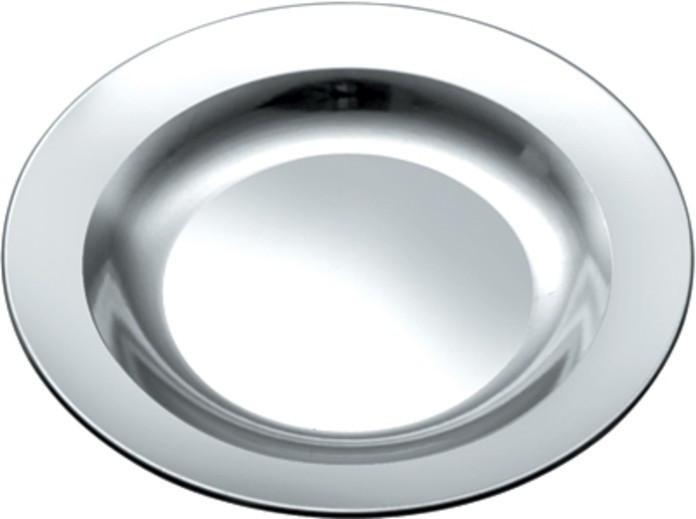 Тарелка нержавеющая круглая V 400 мл Ø 180 мм (шт)