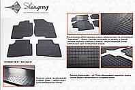 Резиновые коврики в салон на Hyundai i30 06-(Хендай и30 06-)