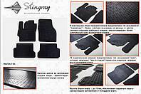 Резиновые коврики в салон на Mazda 3 04- (Мазда 3 04-)