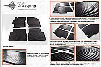 Резиновые коврики в салон на Mazda 6 08 (Мазда 6 08-)