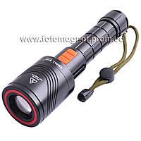 Фонарь 12V Small Sun K3-XML T6, электро-zoom(аккумуляторный светодиодный фонарь)