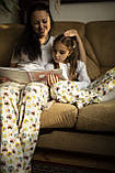 Фланелевая байковая пижама с футболкой Котики L, фото 5