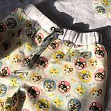 Фланелевая байковая пижама с футболкой Котики L, фото 6
