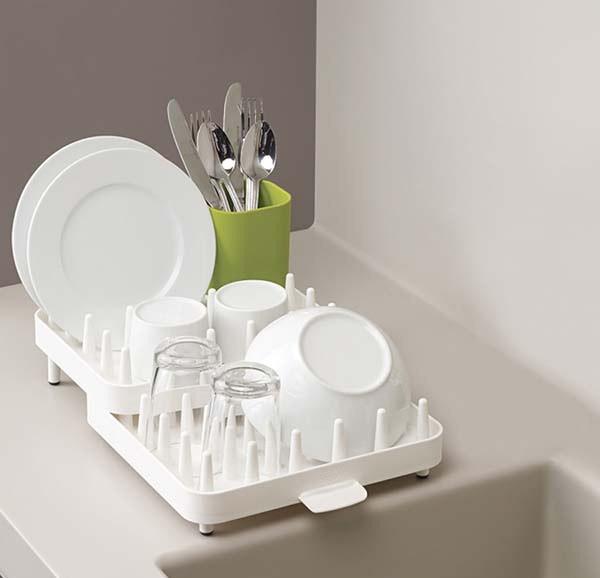 Раздвижная сушилка для посуды JOSEPH JOSEPH Extend Белая