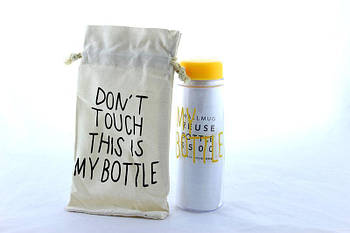 CUP Бутылка с чехлом My bottle 360 Цветной Только ящиком!!! 100
