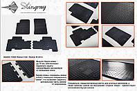 Резиновые коврики в салон на SsangYong Rexton 06-(Санг Енг Рекстон 06-)