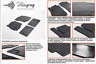 Резиновые коврики в салон на Mitsubishi Lancer 9 04- (Митсубиси Лансер 9 04-)