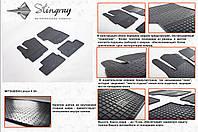 Резиновые коврики в салон на Mitsubishi Lancer X (Митсубиси Лансер 10)