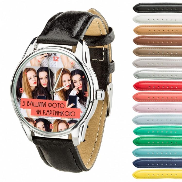 Часы с вашим дизайном/ фото