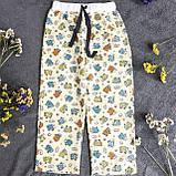 Детская фланелевая пижама с кофтой Овечки 116, фото 4